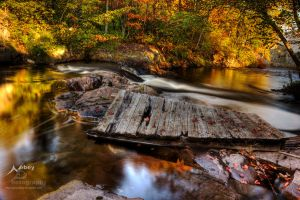 HDR Autumn Dock Flow by Nebey