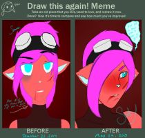 Before and After Meme: Milo by Squirrelax