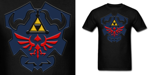 LOZ Dark Link Shield Shirt by Enlightenup23
