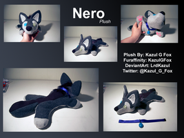 Nero plush by Kazulgfox