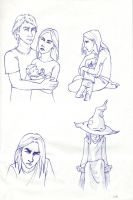 Severus and his family by francu