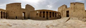 Temple of Philae by Relphien