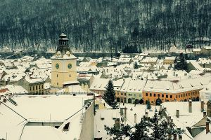 Winter in Brasov by seraphRo