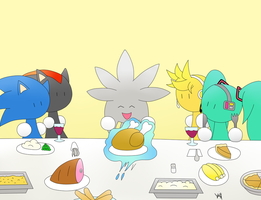 Happy Thanksgiving 2012 by BluexBlur