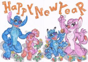 Happy New Year by evilrabbit123