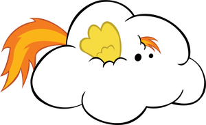 Beep Beep, Spitfire is a cloud. [Vector] by Internetianer