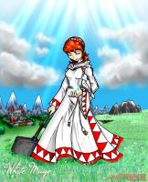 The Divine Healer - White Mage by NewEraOutlaw