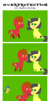 .:Overprotection:. [Comic] by PaulySentry
