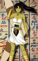 TOTD Sango Egyptian Warrior by DarkGeminiLily