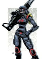 Cobra Nightstalker Trooper by EryckWebbGraphics