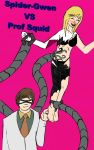 Spider-Gwen Tickled!! (third time lucky) by TKGEEK by neverb4