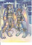 Darkages - Goliath and Demona by Rizerax