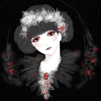black white red by footstep-bu