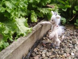 9 Inch Fawn Doll by dot-DOLL