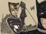 The Cat and the Bat by Hodges-Art