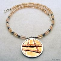 A Work in Copper and Silver by Janski-Designs