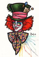 The Mad Hatter by BlueUndine