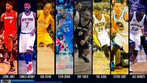 NBA Stars 2013 by danielboveportillo