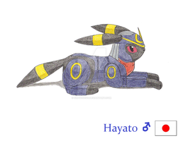 Hayato the Umbreon by Sir-Genesis