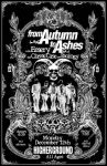 Gig Poster - Autumn To Ashes by mibi