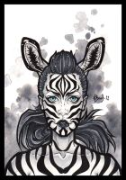 Zebra by BlueUndine