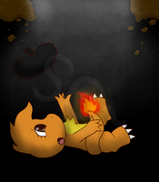 Sketchoo fell out of the world by SketchyCharmander