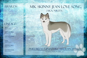 M!K Skinny Jean Love Song Ref Sheet by xMush-Kennelsx