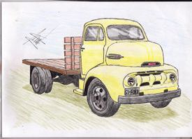 1951 ford flatbed by that-car-bloke