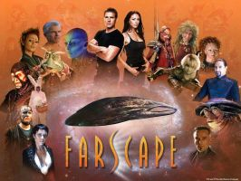 Farscape Cast by DevilDogStudio