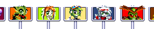 Sonic signposts for Freedom Planet characters by ItalianGamer97