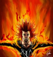 Axel - Playing with Fire by MattSeiz