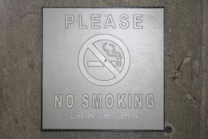 Thank You for not Smoking. by M-Shell