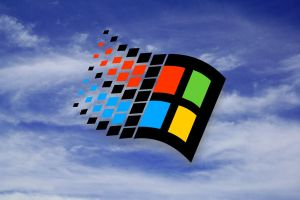 Sky Windows 98 Flag Wall 2 by slowdog294