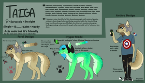 Taiga Reference - 2014 by CYB3R-PUNK