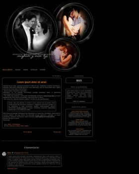 Blogspot template Edward and Bella by MySensitiveHeart
