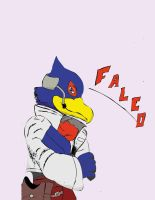 Falco lombardi finished by Master-wolf149