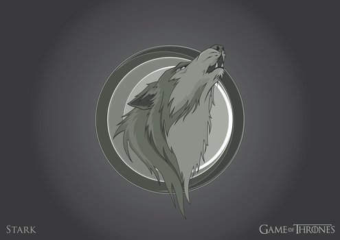 House of Stark logo by MetGod