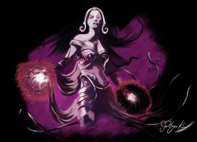 Liliana Vess by NoxPsycho