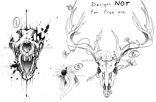 Tattoo Designs #1 [open 1/3] by Hepoth