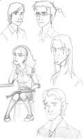 HP Sketches by Limlight