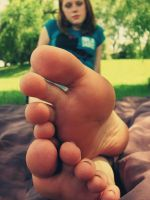 Brittany toes. 2 by Skysofdreams
