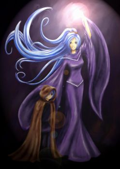 Schala and Janus by lycan