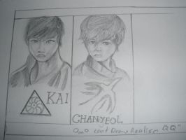 EXO realism sketch by mantoux3