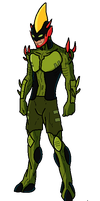 Ben 10 Super Soldier Swampfire by WindMarine
