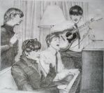 The Beatles by Vaidah