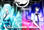 Thank you for 1000+ Watchers! by yuuike