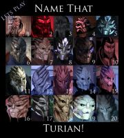 Name that Turian by maqeurious