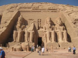 Abu Simbel by Misguided-Ghost1612