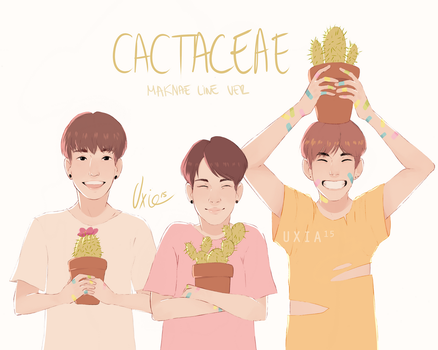 Cactaceae by Uxia15