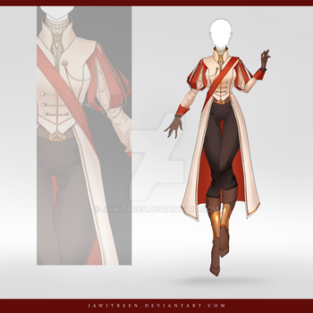(CLOSED) Adoptable Outfit Auction 253 by JawitReen
